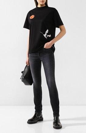 Женские джинсы 3X1 черного цвета, арт. W3SA10921/RAVEN | Фото 2