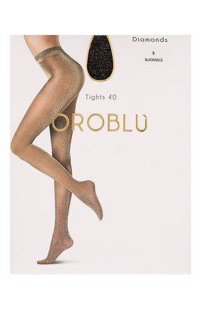 Женские капроновые колготки OROBLU черного цвета, арт. V0BC63279 | Фото 1