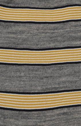 Женские шерстяные носки ANTIPAST серого цвета, арт. AM-194A | Фото 2