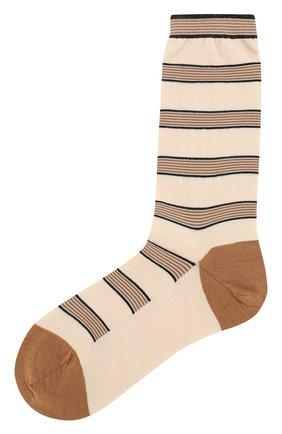 Женские шерстяные носки ANTIPAST кремвого цвета, арт. AM-194A | Фото 1