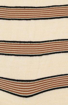 Женские шерстяные носки ANTIPAST кремвого цвета, арт. AM-194A | Фото 2