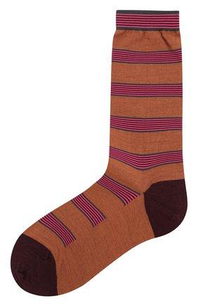 Женские шерстяные носки ANTIPAST светло-коричневого цвета, арт. AM-194A | Фото 1