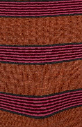 Женские шерстяные носки ANTIPAST светло-коричневого цвета, арт. AM-194A | Фото 2