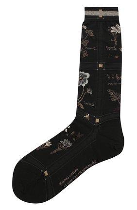 Женские носки ANTIPAST черного цвета, арт. AM-716 | Фото 1