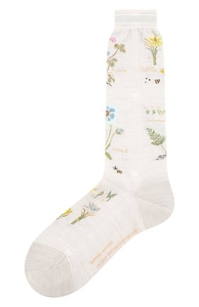 Женские носки ANTIPAST белого цвета, арт. AM-716 | Фото 1