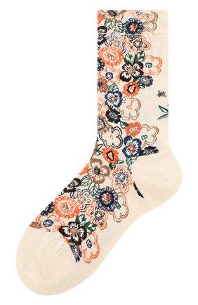 Женские носки ANTIPAST бежевого цвета, арт. AM-717 | Фото 1