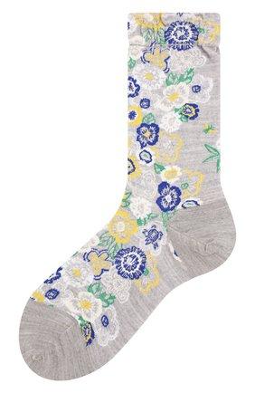 Женские носки ANTIPAST серого цвета, арт. AM-717 | Фото 1