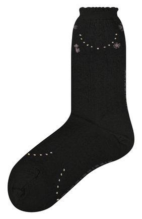 Женские носки ANTIPAST черного цвета, арт. AM-720 | Фото 1