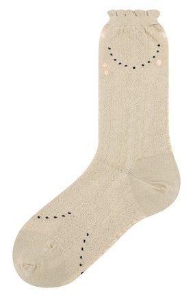 Женские носки ANTIPAST золотого цвета, арт. AM-720/GS | Фото 1