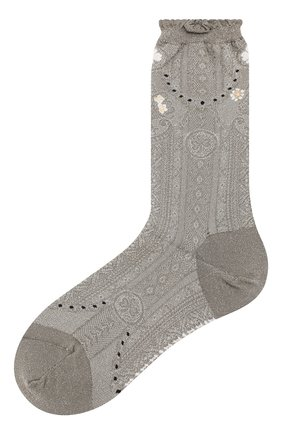 Женские носки ANTIPAST серебряного цвета, арт. AM-720/GS | Фото 1