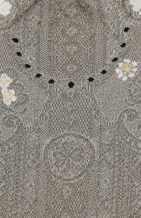 Женские носки ANTIPAST серебряного цвета, арт. AM-720/GS   Фото 2