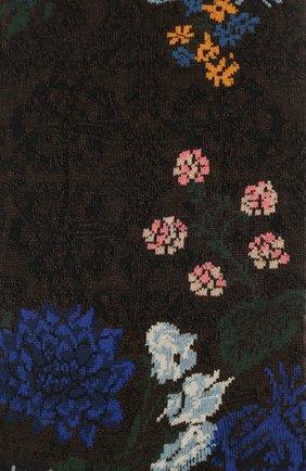 Женские носки ANTIPAST темно-коричневого цвета, арт. AM-722 | Фото 2