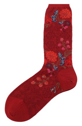 Женские носки ANTIPAST красного цвета, арт. AM-722 | Фото 1