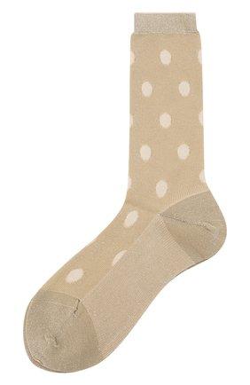 Женские носки ANTIPAST золотого цвета, арт. ANP-102/GS | Фото 1