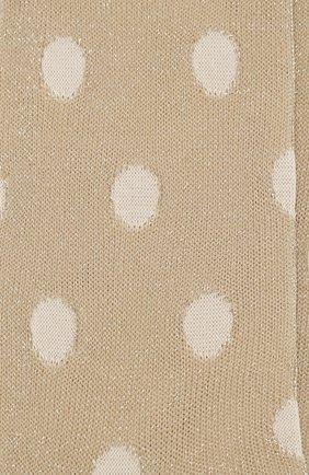 Женские носки ANTIPAST золотого цвета, арт. ANP-102/GS | Фото 2