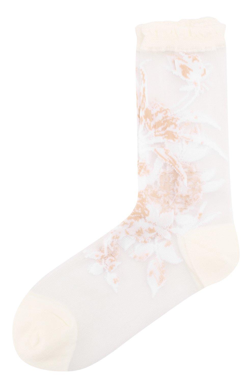 Женские носки ANTIPAST белого цвета, арт. AS-188   Фото 1