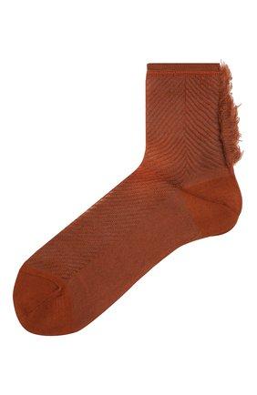 Женские носки ANTIPAST коричневого цвета, арт. AS-190 | Фото 1