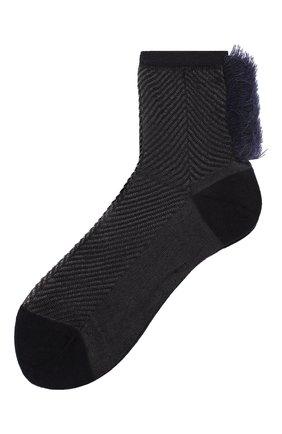 Женские носки ANTIPAST синего цвета, арт. AS-190 | Фото 1