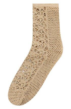 Женские носки ANTIPAST золотого цвета, арт. DS-81/GS | Фото 1