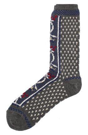 Женские носки ANTIPAST серого цвета, арт. HA-12 | Фото 1