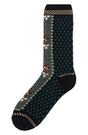 Женские носки ANTIPAST синего цвета, арт. HA-12 | Фото 1