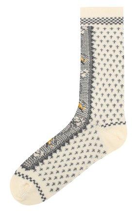 Женские носки ANTIPAST белого цвета, арт. HA-12 | Фото 1