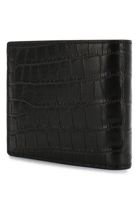 Мужской кожаное портмоне SAINT LAURENT черного цвета, арт. 607734/DZEDW | Фото 2