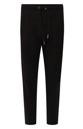 Мужской хлопковые брюки DIESEL черного цвета, арт. 00S3AV/0PAWZ | Фото 1