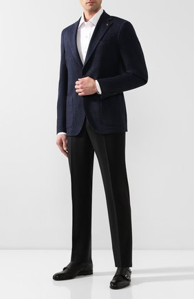 Мужские кожаные монки H`D`S`N BARACCO черного цвета, арт. 64207.20* | Фото 2