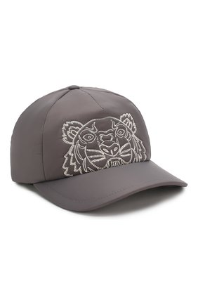 Мужской бейсболка KENZO серого цвета, арт. F965AC301F09 | Фото 1