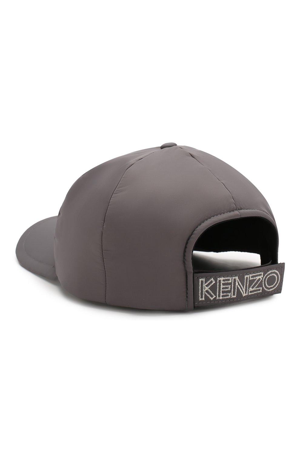 Мужской бейсболка KENZO серого цвета, арт. F965AC301F09   Фото 2