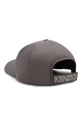 Мужской бейсболка KENZO серого цвета, арт. F965AC301F09 | Фото 2
