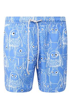 Детского плавки-шорты BLUEMINT голубого цвета, арт. ARTHUS | Фото 1