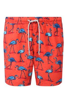 Детского плавки-шорты BLUEMINT красного цвета, арт. ARTHUS | Фото 1