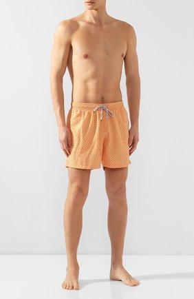 Детского плавки-шорты BLUEMINT оранжевого цвета, арт. L0GAN | Фото 2