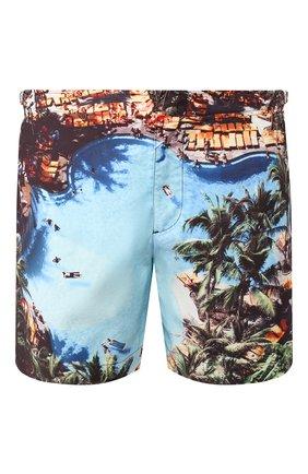 Мужские плавки-шорты ORLEBAR BROWN разноцветного цвета, арт. 270282 | Фото 1 (Материал внешний: Синтетический материал; Кросс-КТ: Пляж)