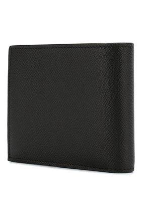 Мужской кожаное портмоне BALENCIAGA черно-белого цвета, арт. 594315/00TV3 | Фото 2