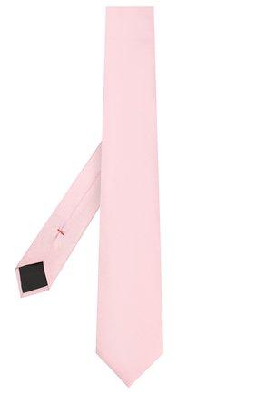 Мужской шелковый галстук HUGO светло-розового цвета, арт. 50423420 | Фото 2