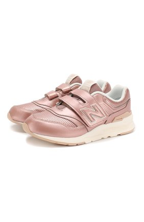 Детские кроссовки 997h NEW BALANCE розового цвета, арт. PZ997HRS/M | Фото 1