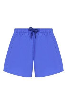 Детские плавки-шорты VILEBREQUIN синего цвета, арт. JIMC0D00 | Фото 1