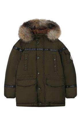 Пуховая куртка Naussac | Фото №1