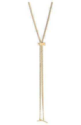 Женское цепь для солнцезащитных очков CHLOÉ золотого цвета, арт. CHC17AF002CB79DA | Фото 2
