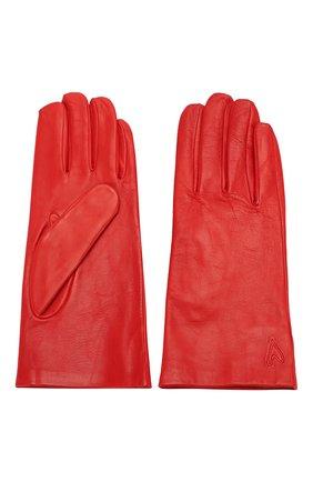 Женские кожаные перчатки ESCADA SPORT красного цвета, арт. 5032592 | Фото 2