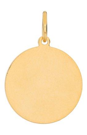 Женская подвеска HYPSO золотого цвета, арт. MEDAL STAR RELIEF   Фото 2