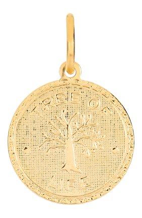 Женская подвеска HYPSO золотого цвета, арт. MEDAL TREE 0F LIFE | Фото 1
