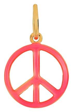 Женская подвеска HYPSO розового цвета, арт. PENDANT C0L0R PEACE AND L0VE | Фото 1