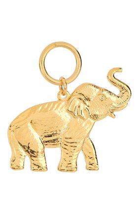 Женская подвеска HYPSO золотого цвета, арт. PENDANT ELEPHANT | Фото 1