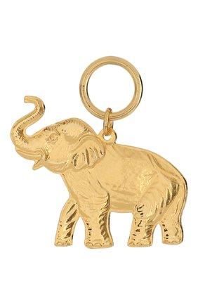 Женская подвеска HYPSO золотого цвета, арт. PENDANT ELEPHANT   Фото 2