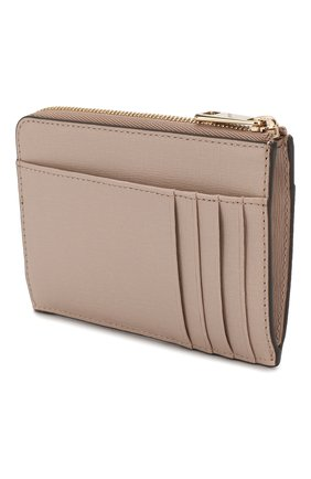 Женский кожаный футляр для кредитных карт babylon FURLA бежевого цвета, арт. PCL8/B30 | Фото 2
