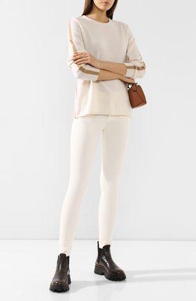 Женские джинсы AG белого цвета, арт. 0SV1379/IDU | Фото 2